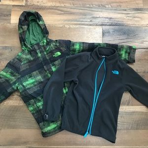 The North Face 2pc Winter Hyvent Coat Boy 10-12
